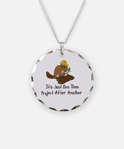Cute Beaver Necklace