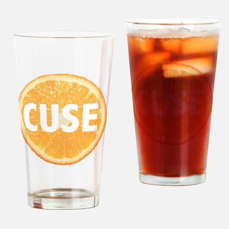 Cute Cuse Drinking Glass