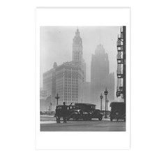 A Foggy Day in Chicago Postcards (Package of 8)