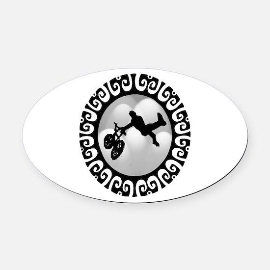 TAILWHIP Oval Car Magnet