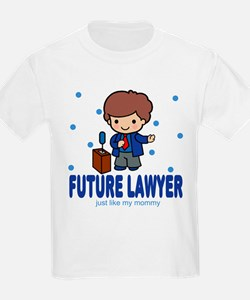 Future Lawyer like Mommy T-Shirt
