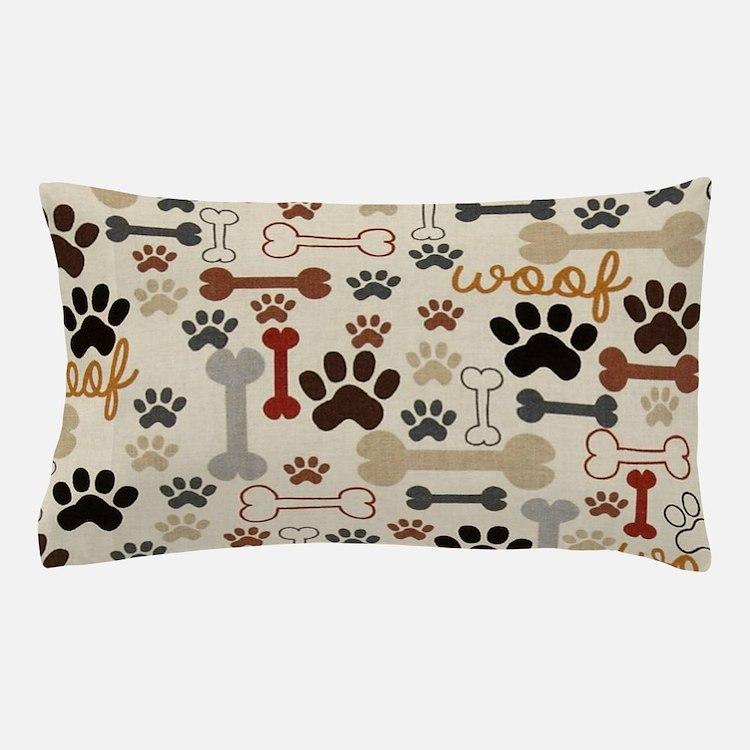 Cute Dog bone Pillow Case