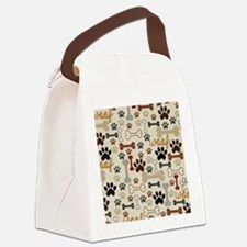 Funny Dog Canvas Lunch Bag
