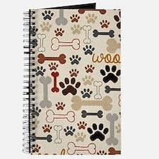 Cute Dog bone Journal