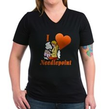 I Love Needlepoint Shirt