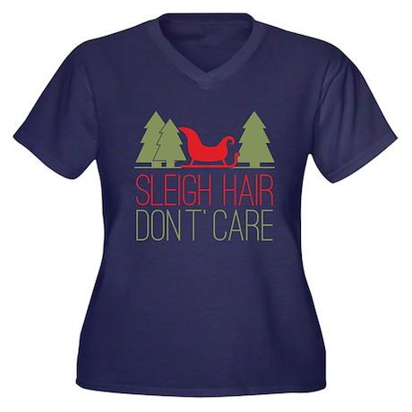 Sleigh Hair Women's Plus T-Shirt
