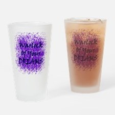Warlock Of Your Dreams (Black) Drinking Glass