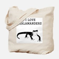I Love Salamanders Tote Bag