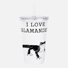 I Love Salamanders Acrylic Double-wall Tumbler