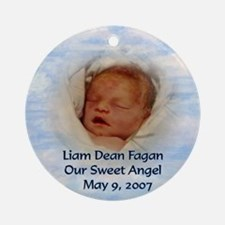Liam Ornament (Round)