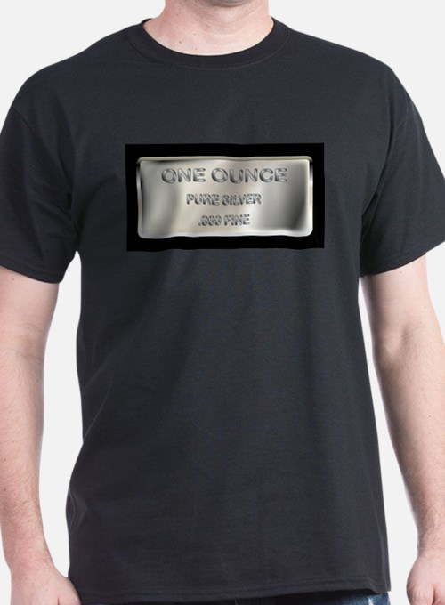 One Ounce Silver Ingot T-Shirt