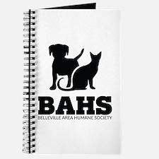Belleville Area Humane Society Vertical Black Logo