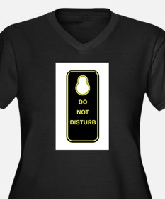 Door Knob Sign Plus Size T-Shirt