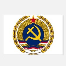 Emblem of Christian Socia Postcards (Package of 8)