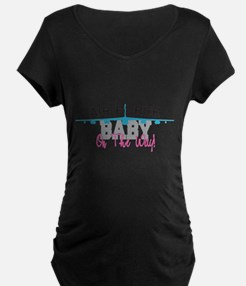Air Force Baby Maternity T-Shirt
