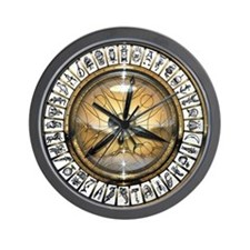 Alethiometer Wall Clock