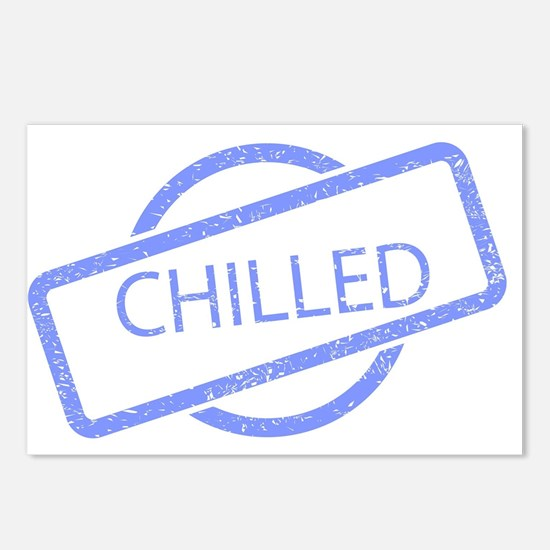 Chilled Stamp Postcards (Package of 8)