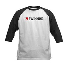 I Love Swimming Tee