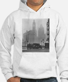 A Foggy Day in Chicago Hoodie