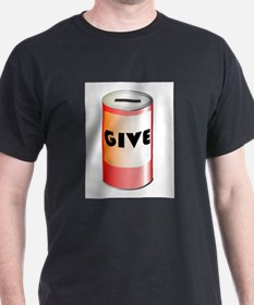 Give Tin Can T-Shirt