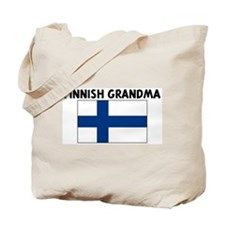 FINNISH GRANDMA Tote Bag
