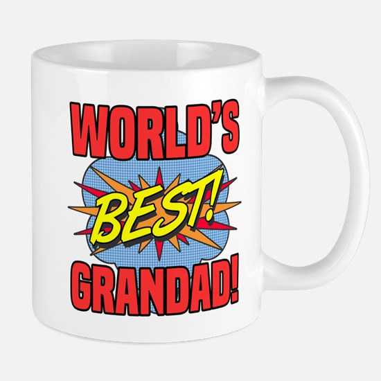 World's Best Grandad Mugs