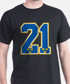 SE Sweden(Sverige) Hockey 21 T-Shirt