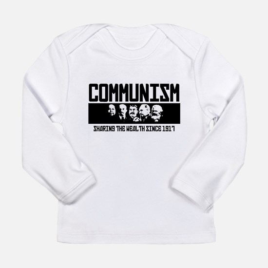 Communism: Marx, Castro, Stali Long Sleeve T-Shirt