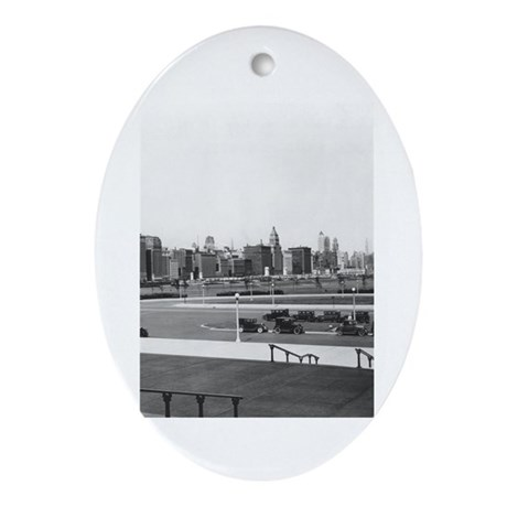 Michigan Avenue Keepsake (Oval)