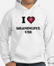 I Love Meaningful Use Jumper Hoody