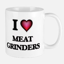 I Love Meat Grinders Mugs