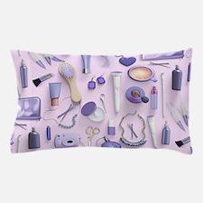 Purple Vanity Table Pillow Case