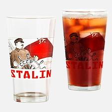 Stalin Drinking Glass