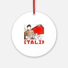 Stalin Round Ornament