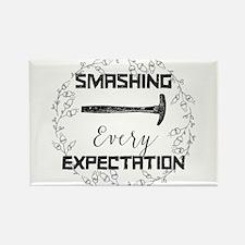 Smashing Every Expectation Magnets