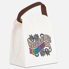 La Dee Da Canvas Lunch Bag