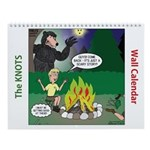Knots Scout Cartoons Calendar Wall Calendar