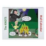 Knots Scout Cartoons Calendar Wall Calendar