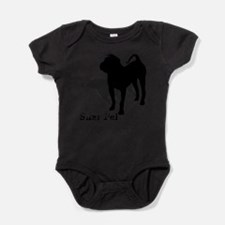 Adopt dog Baby Bodysuit