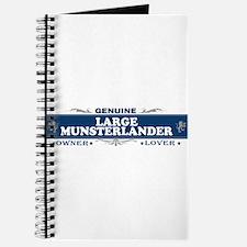 LARGE MUNSTERLANDER Journal