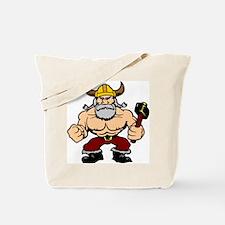 Mad Viking Berserker Tote Bag