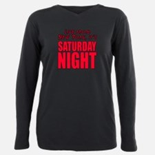 Cute Saturdaynightlivetv Plus Size Long Sleeve Tee