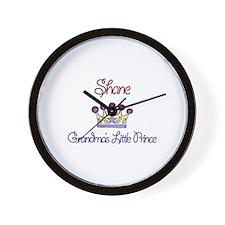 Shane - Grandma's Little Prin Wall Clock