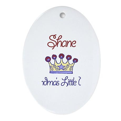Shane - Grandma's Little Prin Oval Ornament