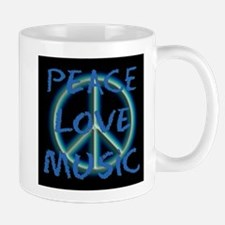 Peace Love Music Mugs