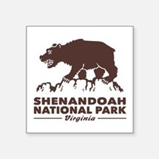 "Shenandoah National Park Square Sticker 3"" x 3"""