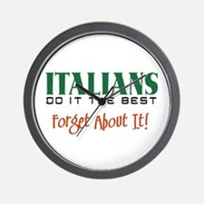 Italians do it the Best Wall Clock