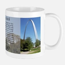 Gateway Arch 3 Picture Mugs