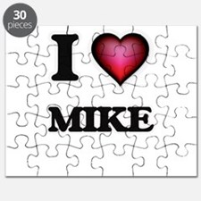 I Love Mike Puzzle