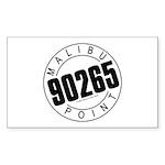 Malibu 90265 Rectangle Sticker